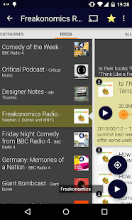 Podcatcher- screenshot thumbnail