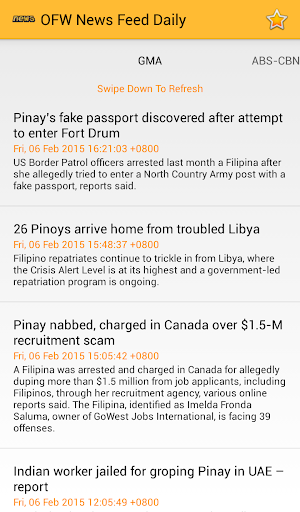 OFW News Feed Daily