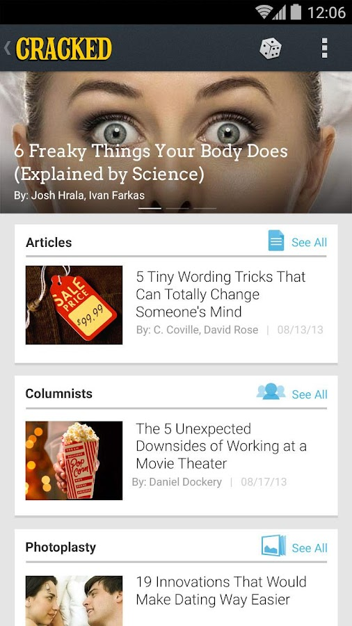Cracked Reader Lite - screenshot