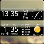 Smoked Glass Weather Clock 4.2.4 Apk