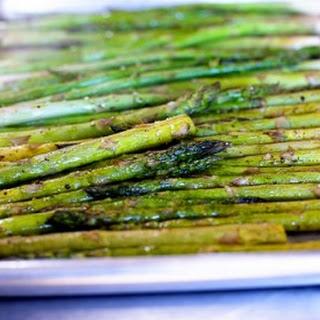 Oven Roasted Asparagus.