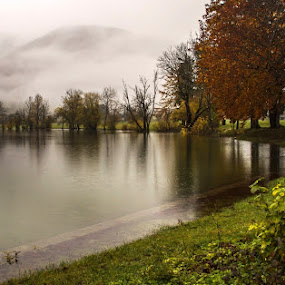 Rainy day! by Jože Borišek - Landscapes Weather ( bohinj-slovenia )