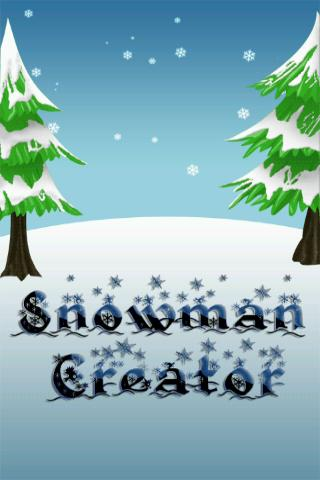 Snowman Creator - screenshot