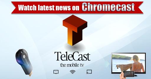 Telecast+ Chromecast TV