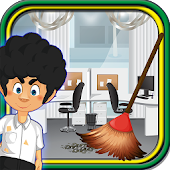 Clean Up Office -Cleaning game