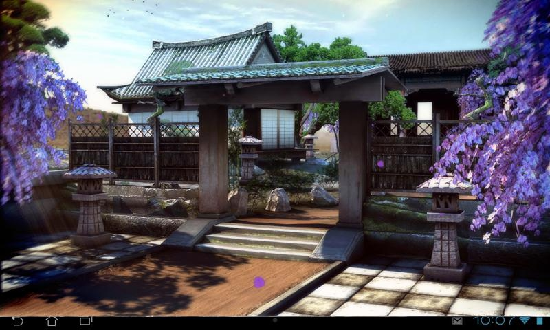 Real Zen Garden 3D LWP- screenshot