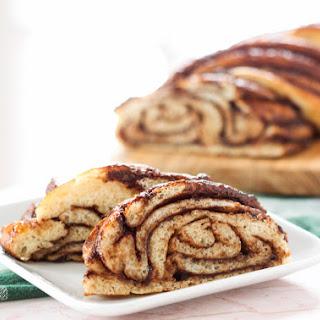 Braided Nutella Bread.
