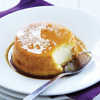 Caramel Cheesecakes.