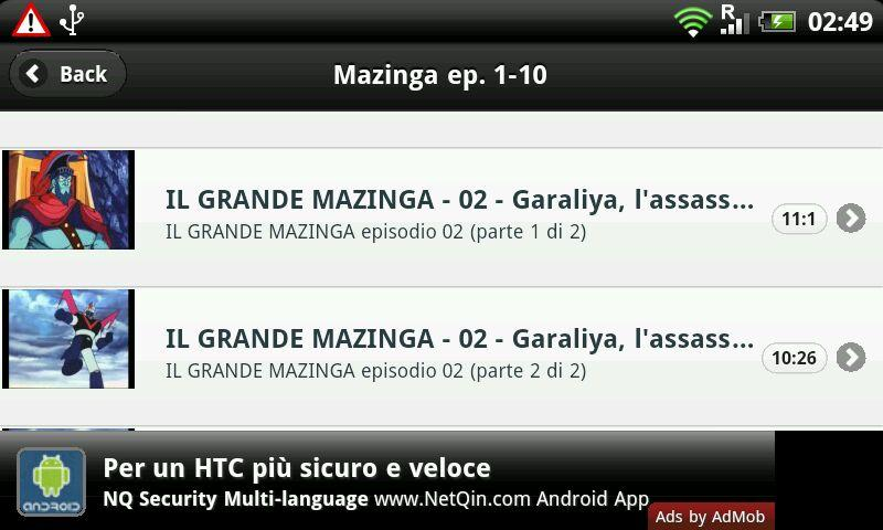 Il Grande Mazinga - screenshot
