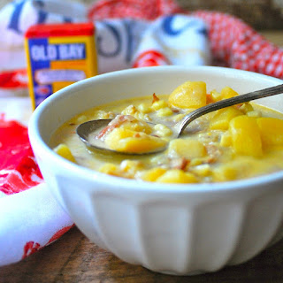 Maryland Clam and Corn Chowder