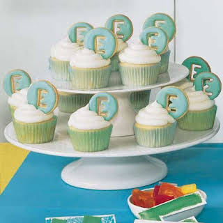 Iced Letter Cookies.