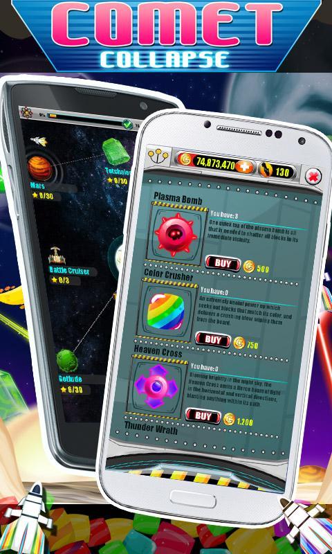 Comet Collapse - screenshot