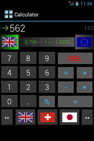 Converter - Calculator- screenshot