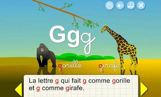 Learn French - Animal Alphabet- screenshot thumbnail