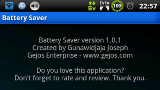 battery saver Donate (root) v4.5.1 Patched