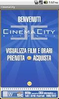 Screenshot of Webtic CinemaCity Ravenna