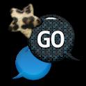 GO SMS - Leopard Star Sky 2