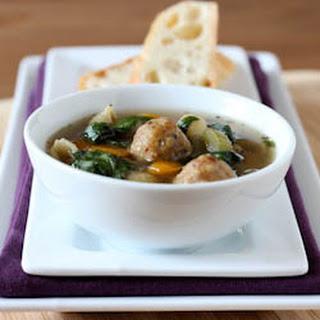 Slow Cooker Italian Wedding Soup.