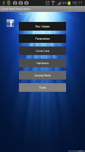 Coral Reef Parameters 2.3.3