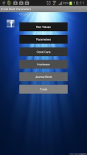 Coral Reef Parameters (2.3.3)- screenshot thumbnail