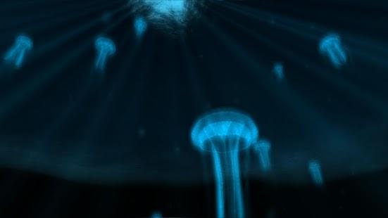 Jellypaper 3D Unterwasser LWP
