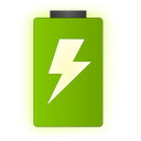 Text Battery Widget