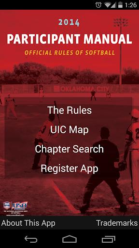 Softball Rulebook