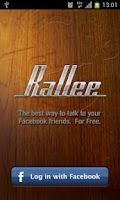 Screenshot of Rallee Walkie Talkie PTT
