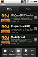 Screenshot of KNBT