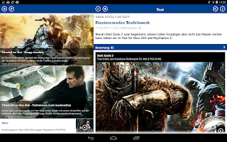 Screenshot of GameStar News