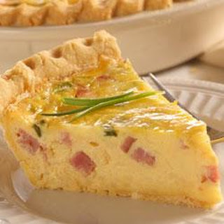 Ham and Swiss Quiche Recipe