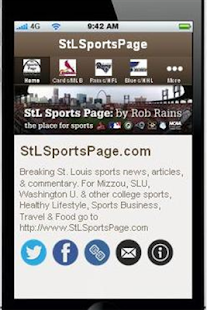 StLSportsPage.com- screenshot thumbnail