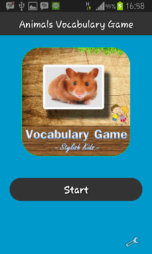 Animals Vocabulary Game