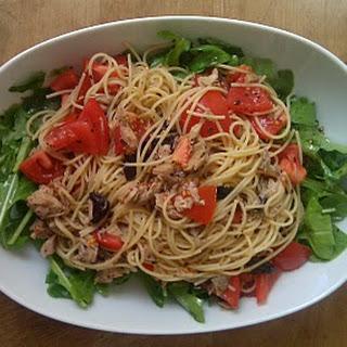 Mediterranean-Inspired Tuna Pasta Salad.