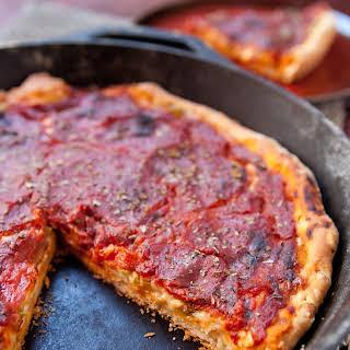 Pepperoni Skillet Pizza.