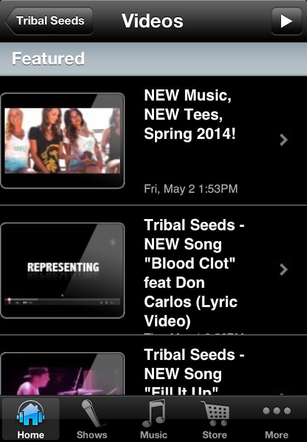 Tribal Seeds - screenshot