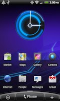 Screenshot of 3.0 Honeycomb Clock Lite