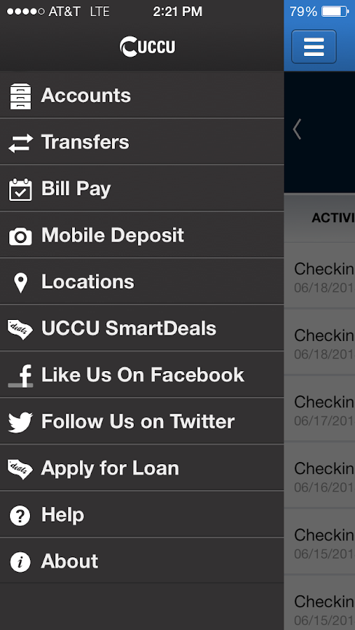 UCCU Mobile - screenshot