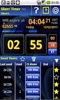 Screenshot of Silent Mode Timer Free