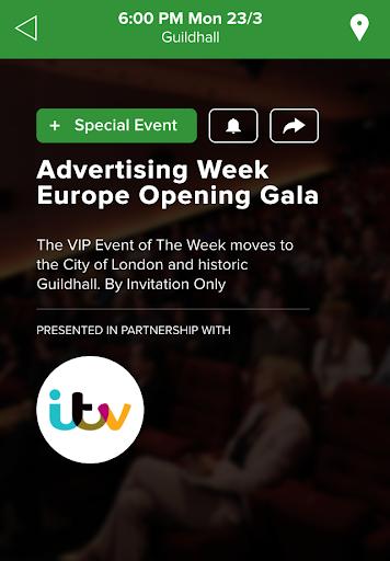 【免費商業App】Advertising Week EU-APP點子