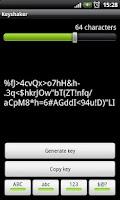 Screenshot of Password generator - Keyshaker