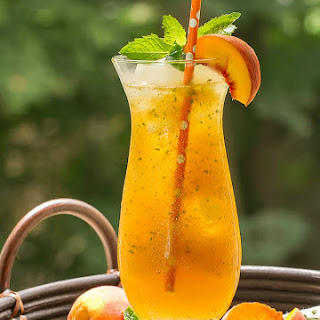 Ginger Peach Cooler.