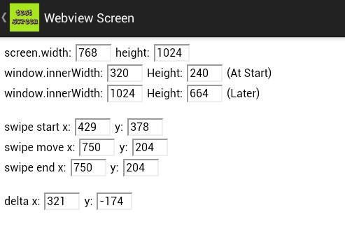 Test WebView Screen