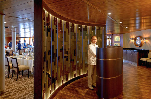 Windstar-Cruises-Amphora - Experience fine dining at the Amphora Restaurant aboard the Wind Star.