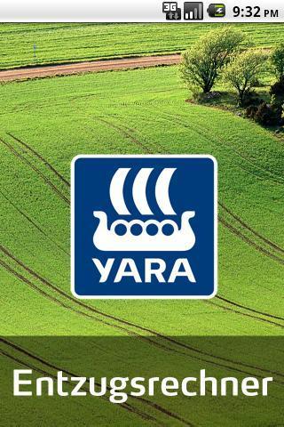 Yara Entzugsrechner- screenshot