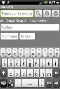 Academic – miniatura snímku obrazovky