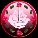 Rosas Relógio Widgets
