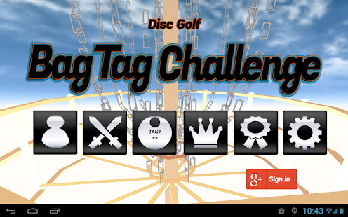 Disc Golf Bag Tag Challenge- screenshot thumbnail