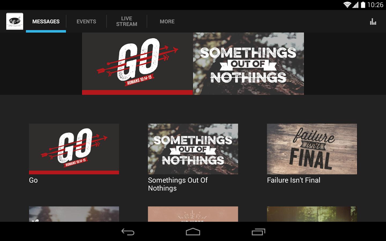 CWC App - screenshot