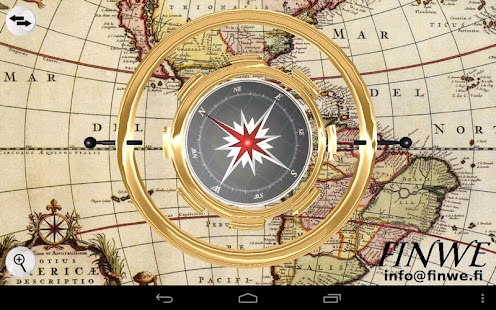 3D Gyro Compass - screenshot thumbnail